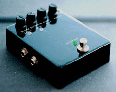 Electric Guitar Distortion Box